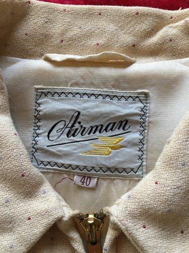 1950s ギャバジャン Airman 白系