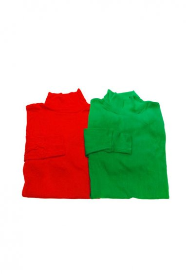 US.military mocknecktee (RED,GREEN)