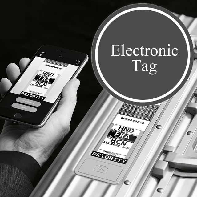 リモワルフトハンザ 電子タグ TSAロック付 RIMOWA Lufthansa Collection Multiwheel Electronic Tag
