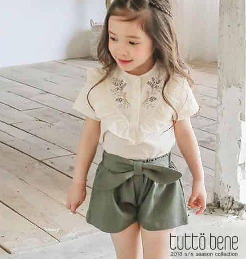 <img class='new_mark_img1' src='//img.shop-pro.jp/img/new/icons14.gif' style='border:none;display:inline;margin:0px;padding:0px;width:auto;' /> 【TUTTO BENE】Ribbon Culottes Pants