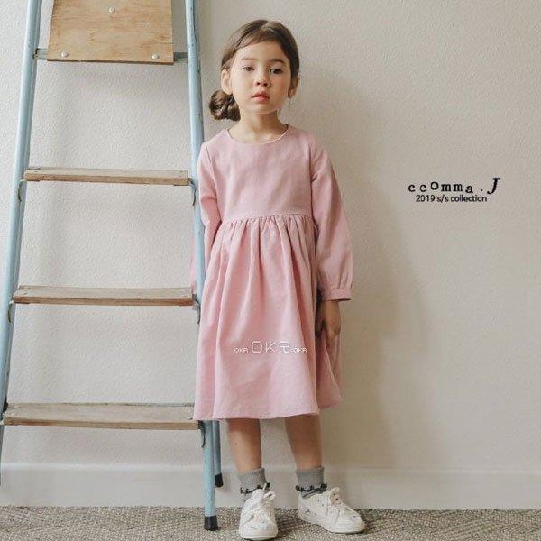 【ご予約】Daily Sherring Dress|韓国子供服 Hulule(フルレ)