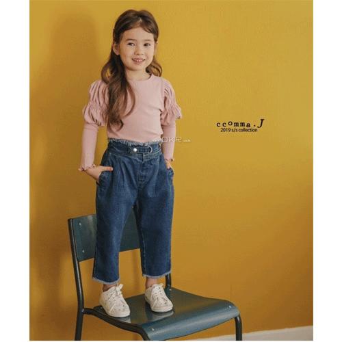 【ご予約】White Snow Puff Tee|韓国子供服 Hulule(フルレ)