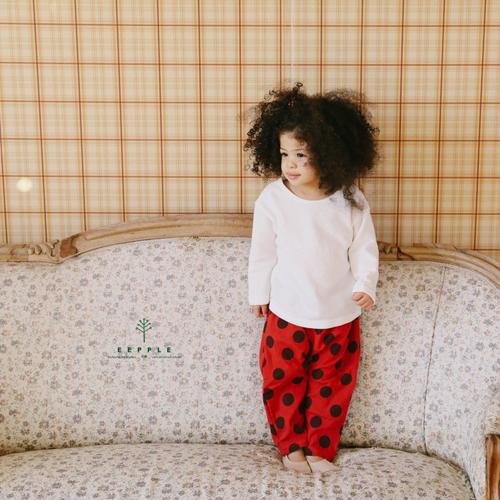 【ご予約】Deng Deng Baggy Pants|韓国子供服 Hulule(フルレ)