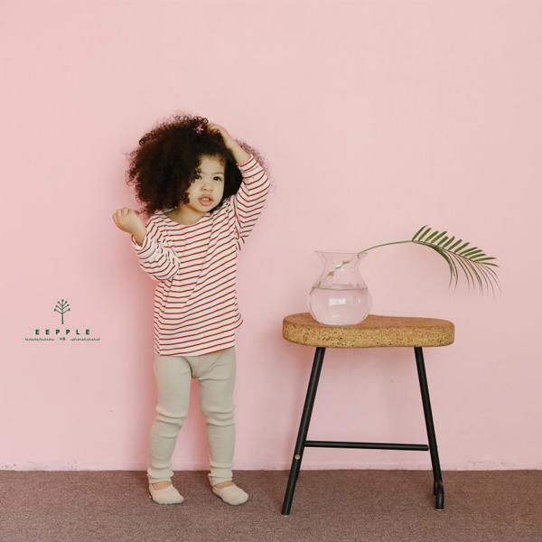 【ご予約】Spring Stripe T|韓国子供服 Hulule(フルレ)