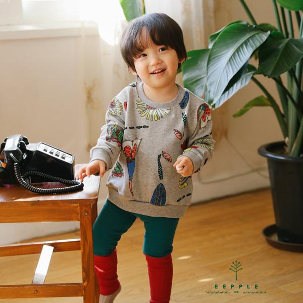 【ご予約】Flower Drawing T|韓国子供服 Hulule(フルレ)