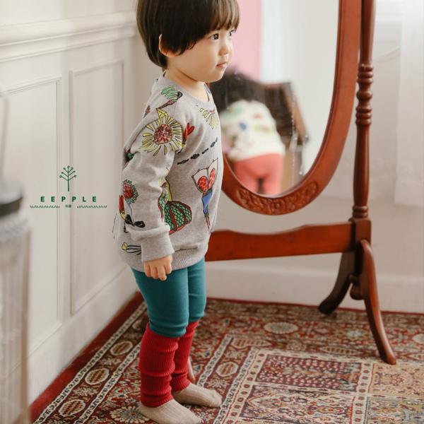 【ご予約】Color Leggings 韓国子供服 Hulule(フルレ)