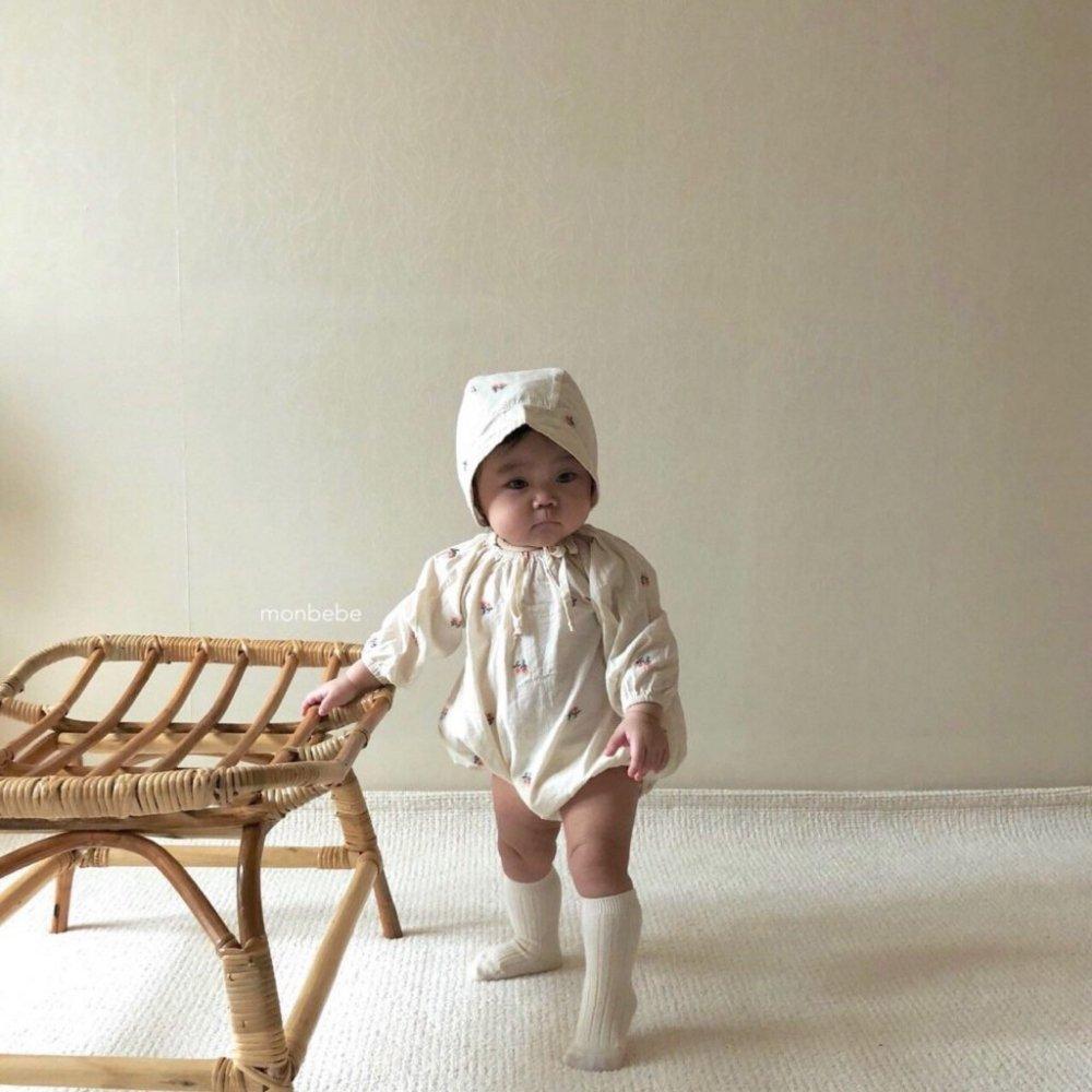 【ご予約・新作モンべべ】刺繍スーツEmbroidery Suit|韓国子供服 Hulule(フルレ)