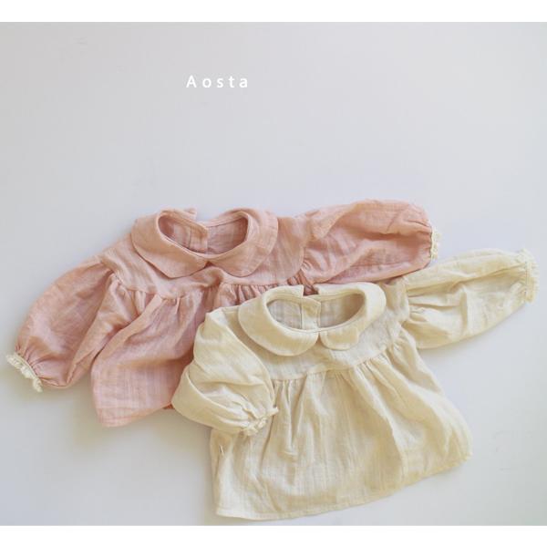 【ご予約】ロマンチックブラウス(Romantic Blouse)|韓国子供服 Hulule(フルレ)