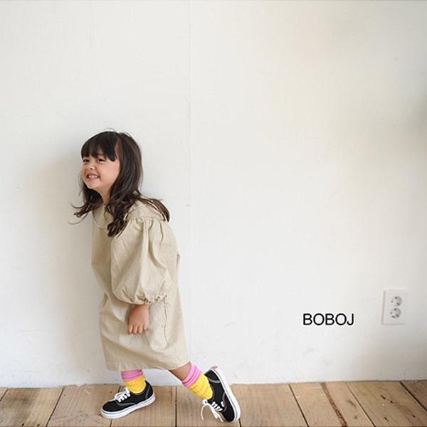 【ご予約】パフスリーブワンピース BOBOj| Hulule(フルレ)