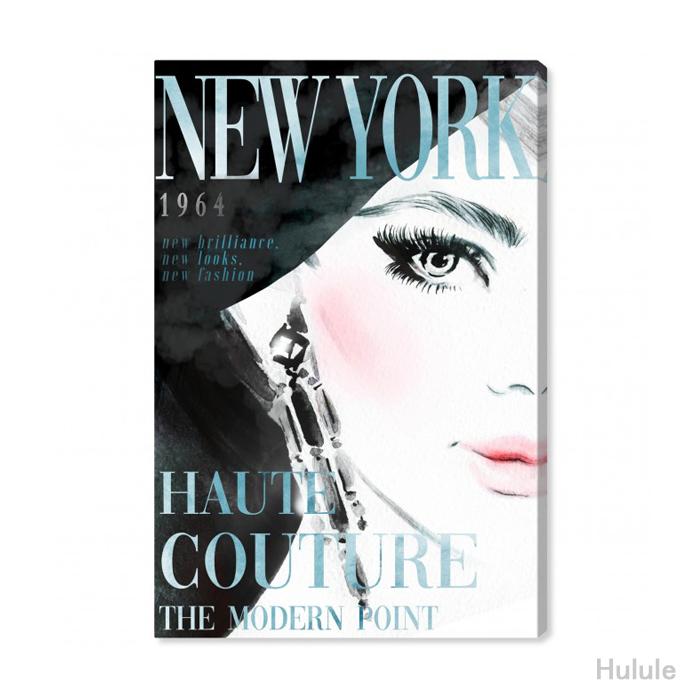 日本未入荷・オリバーガル(Oliver Gal)(25x38cm〜76x114cmまで5サイズ展開) COVER NEW YORK AQUA アート
