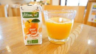 vitamont 有機ストレートジュースオレンジ