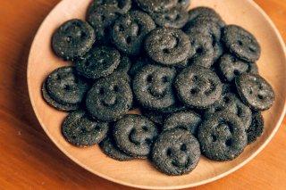 ちびすけ玄米クッキー 黒(ごま)