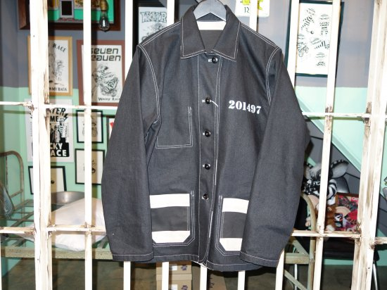 REVERSIBLE BORDER COVERALL MATTSONSxWACKY RACE カバーオール