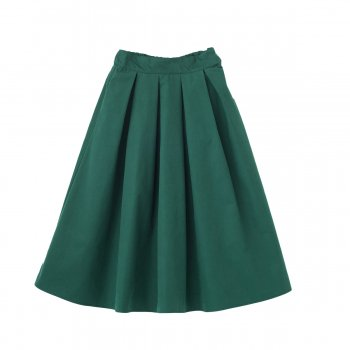 Tuck volume skirt