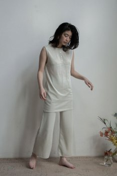 Knit relax pants