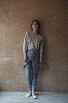 Layered wrap pants