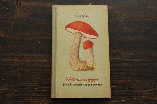 きのこ図鑑「Pilzwanderungen」1952年/ドイツ
