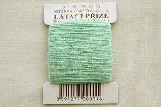 チェコの糸(パステル黄緑)