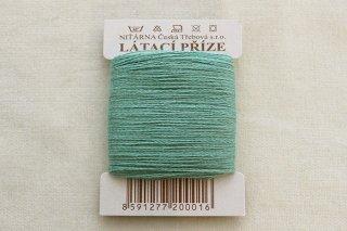 チェコの糸(青磁緑)