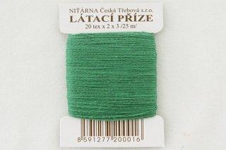 チェコの糸(緑)