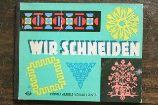工作本「WIR SCHNEIDEN/チョキチョキ」/ドイツ