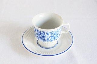 青い門のカップ&ソーサー/チェコ