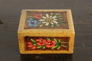 エーデルワイスの小さな木箱/ドイツ