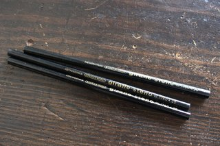 BOHEMIA WORKS鉛筆3本セット(黒)/ドイツ