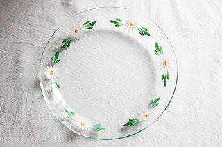マーガレットのガラス皿(大)/ハンガリー