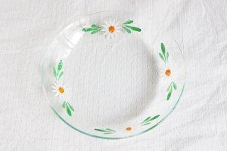 マーガレットのガラス皿(小)/ハンガリー