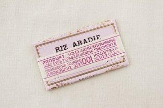極薄透かし入りのたばこ紙綴り/RIZ ABADIE