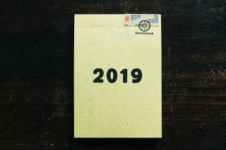 2019年 週めくりカレンダー/パッドタイプ