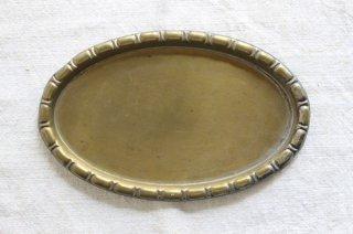 真鍮の楕円トレイ/ハンガリー