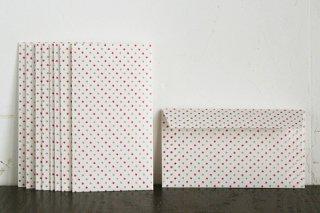 包装紙封筒 赤星