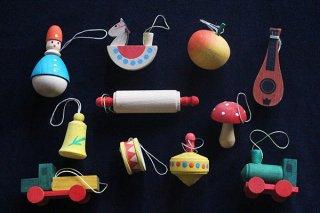 木製おもちゃMIXオーナメント/ドイツ