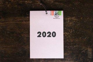2020年 週めくりカレンダー/掛けられるタイプ