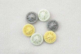 チェコの糸ボタン/12mmセット 7