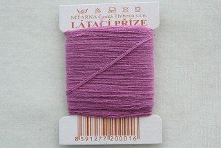 チェコの糸(薄赤紫)