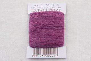 チェコの糸(赤紫)
