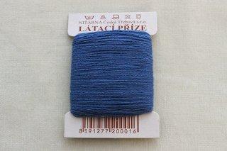 チェコの糸(青)