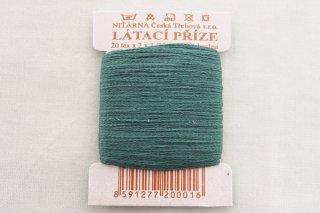 チェコの糸(欧深緑)