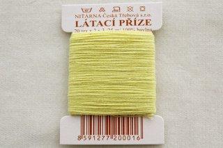 チェコの糸(黄色)