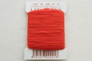 チェコの糸(赤)