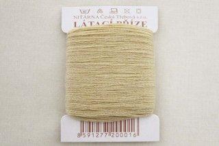 チェコの糸(金クリーム)