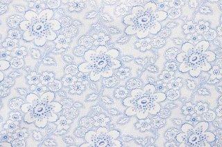 ジャーマンヴィンテージファブリック/青い桜
