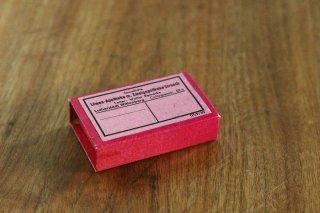 薬屋さんの小さな紙箱(濃ピンク)/ドイツ