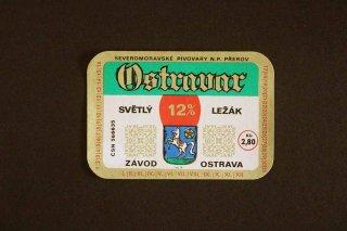 ビールラベル(OSTRAVAR)/チェコ