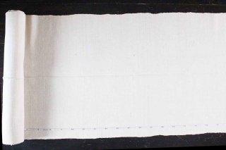 手織りの麻混生地 54cm幅/ルーマニア
