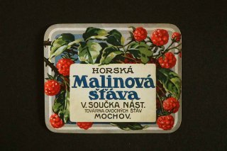 飲みものラベル(MALINOVA)/チェコ