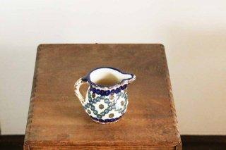 陶器のジャグ/丸クロス模様/ドイツ